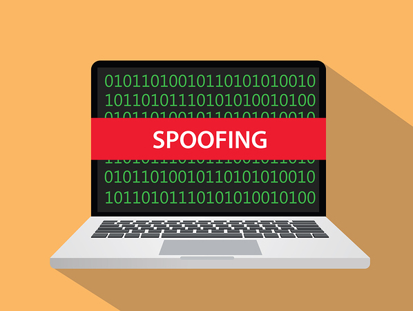 cryptocurrency spoofing