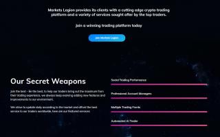 Markets Legion trading services