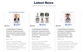 CreditEUBank news section