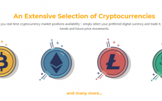 MaxWise selection of cryptocurrencies