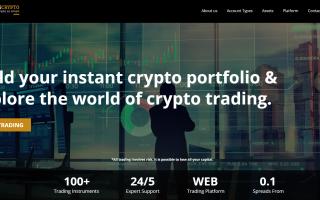 Crypto trading with InvestingCrypto
