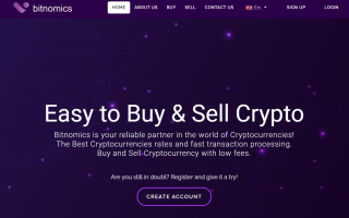buy and sell crypto with Bitnomics